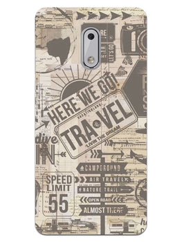 Wanderlust Graffiti Nokia 6 Mobile Cover Case