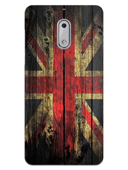 Union Jack Nokia 6 Mobile Cover Case