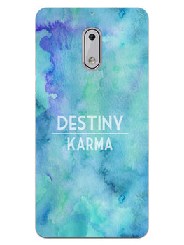 Destiny Vs Karma Nokia 6 Mobile Cover Case