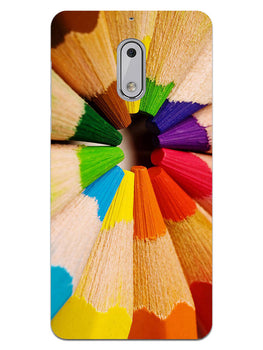 Rainbow Sticks Art Nokia 6 Mobile Cover Case