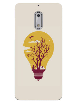 Live Life With Nature Nokia 6 Mobile Cover Case
