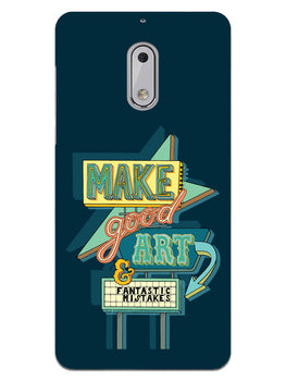 Make Good Art Nokia 6 Mobile Cover Case