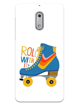 Roller Skate Play With Fun Nokia 6 Mobile Cover Case