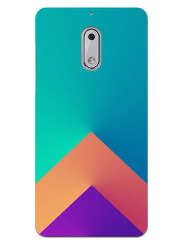 Triangular Shapes Nokia 6 Mobile Cover Case