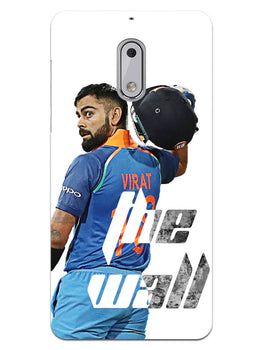 Kohli The Wall Cricket Lover Nokia 6 Mobile Cover Case