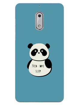 Sleepy Panda Nokia 6 Mobile Cover Case
