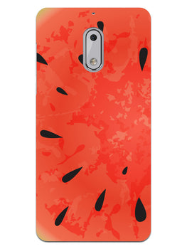 Drinking Watermelon Nokia 6 Mobile Cover Case