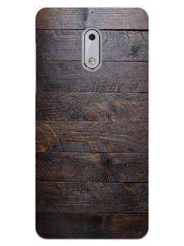 Wooden Wall Nokia 6 Mobile Cover Case