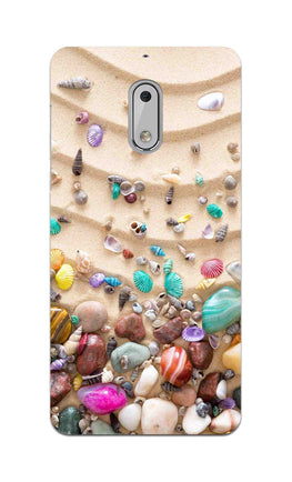 Sea Shell Collection Beach Lovers Nokia 6 Mobile Cover Case