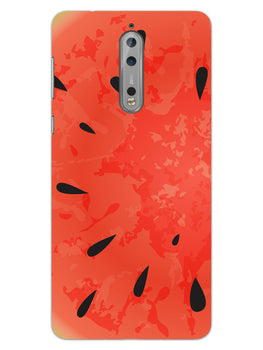Drinking Watermelon Nokia 8 Mobile Cover Case