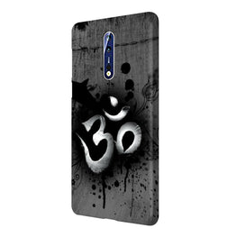 Om Shiva Nokia 8 Mobile Cover Case