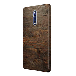 Wooden Wall Nokia 8 Mobile Cover Case
