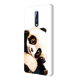 Cute Baby Panda Nokia 8 Mobile Cover Case