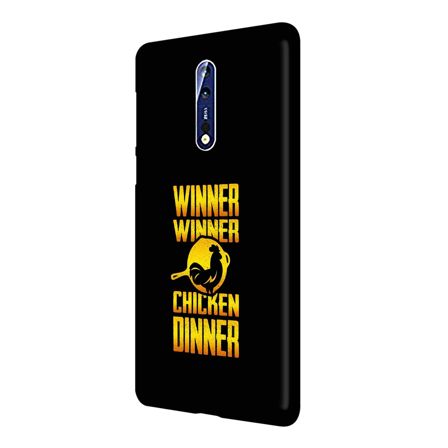 Chicken Dinner Pan For Winner Typography Nokia 8 Mobile Cover Case