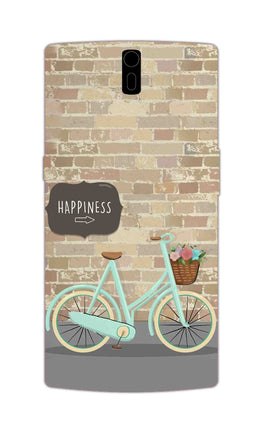 Enjoy The Ride With Bycycle OnePlus 1 Mobile Cover Case