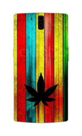 Colorful Vintag Weed Art For Artist OnePlus 1 Mobile Cover Case