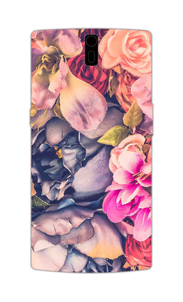 Flowers Blomming Roses Everywhere  OnePlus 1 Mobile Cover Case
