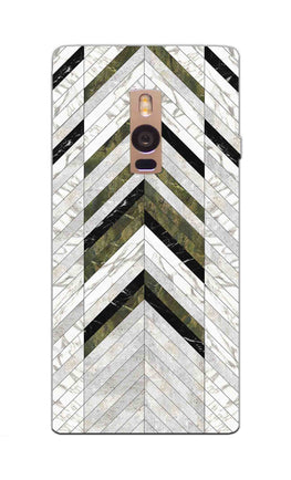 Marble Strips Line Pattern Geometric Art OnePlus 2 Mobile Cover Case
