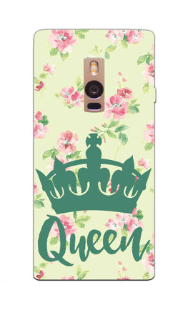 Floral Queen Pattern So Girly OnePlus 2 Mobile Cover Case