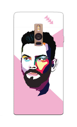 Virat Koli Art For Kohli Cricket Lovers OnePlus 2 Mobile Cover Case