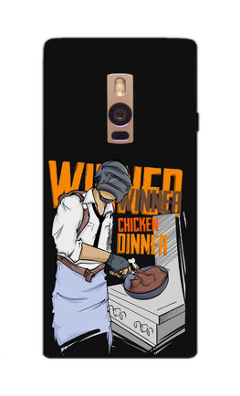 Man Making Chicken Dinner For Game Lovers OnePlus 2 Mobile Cover Case