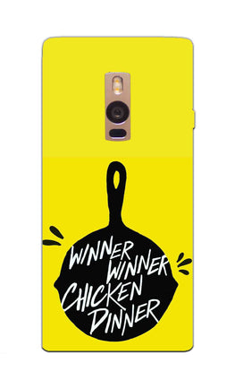 Chicken Pan Typography Art OnePlus 2 Mobile Cover Case