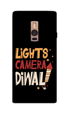 Lights Camera Diwali Enjoy Festival Of Light OnePlus 2 Mobile Cover Case