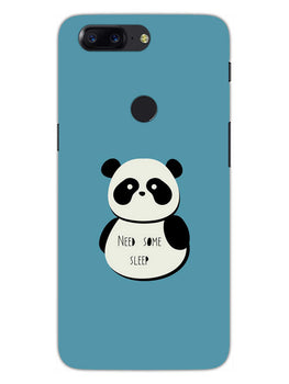 Sleepy Panda OnePlus 5T Mobile Cover Case