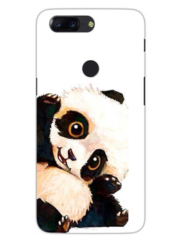 Cute Baby Panda OnePlus 5T Mobile Cover Case