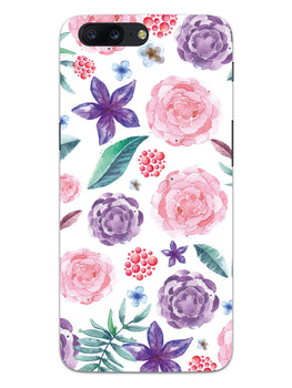 Floral Pattern OnePlus 5 Mobile Cover Case