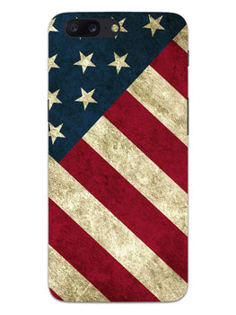 American Flag Art OnePlus 5 Mobile Cover Case
