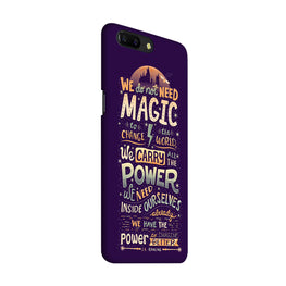 Harry Potter Quote OnePlus 5 Mobile Cover Case