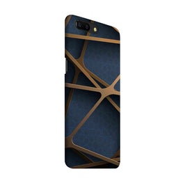 Random Geometry OnePlus 5 Mobile Cover Case