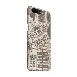 Wanderlust Graffiti OnePlus 5 Mobile Cover Case