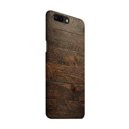 Wooden Wall OnePlus 5 Mobile Cover Case