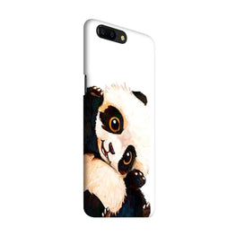 Cute Baby Panda OnePlus 5 Mobile Cover Case