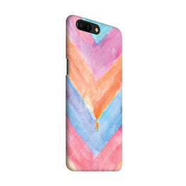 WaterColor Chevron Pattern OnePlus 5 Mobile Cover Case