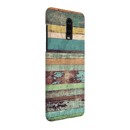 Vintage Wooden Wall OnePlus 7 Cover Case