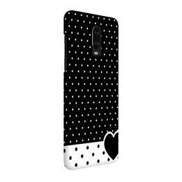 Polka Dots Heart OnePlus 7 Cover Case (For Girls)
