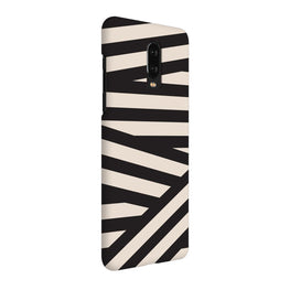 Geometry Stripes OnePlus 7 Cover Case (For Girls)
