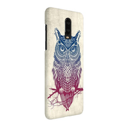 Owl Art Graffiti OnePlus 7 Cover Case
