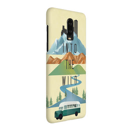 Into The Wild For Travel Lovers OnePlus 6T Mobile Cover Case