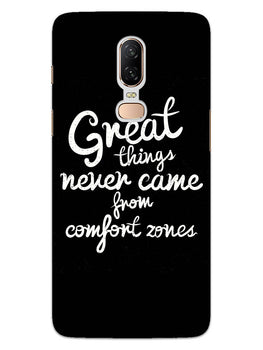 Comfort Zone Gyaan OnePlus 6 Mobile Cover Case