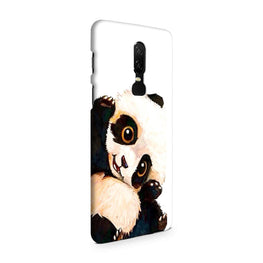 Cute Baby Panda OnePlus 6 Mobile Cover Case