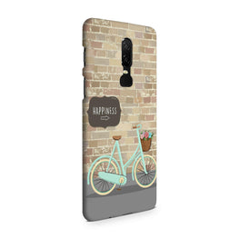 Enjoy The Ride With Bycycle OnePlus 6 Mobile Cover Case