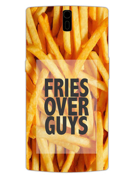 Fries Over Guys OnePlus 1 Mobile Cover Case