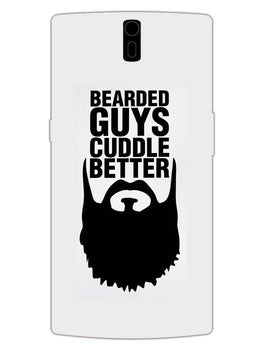 Beard Cuddle OnePlus 1 Mobile Cover Case