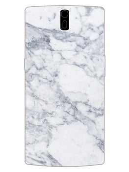 Chic White Marble OnePlus 1 Mobile Cover Case
