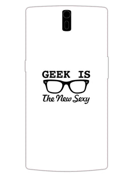 Geek Is Sexy OnePlus 1 Mobile Cover Case