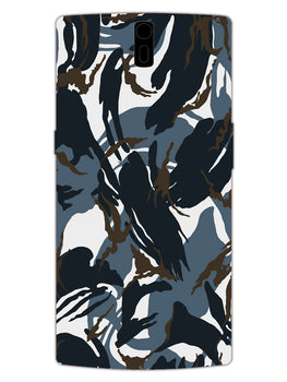 Camouflage Army Military OnePlus 1 Mobile Cover Case
